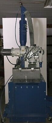 Nordson 200lb Fluidizing Hopper With Azo Sieve And Reclaim Cannister