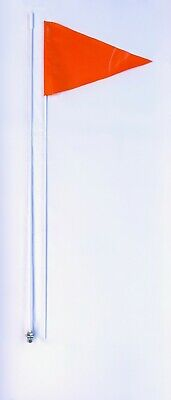 Toyota Tacoma Tundra 4 Runner Highlander Magnum 7'  2 Part Flexible Whip Flag