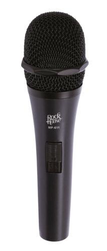 "ROCKHOUSE Microphone "" Semi-Professional "" Black MP-611 Metal Housing XLR"