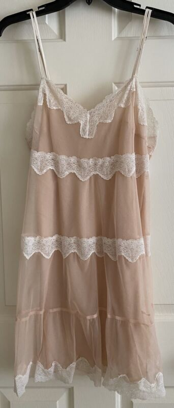 VICTORIA SECRET 2PC ANGELS Babydoll Night Gown Size S