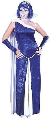 Frost Bite Ice Fx Adult Womens Costume Collar & Choker Velvet Halloween Dress Up](Fx Halloween Costumes)