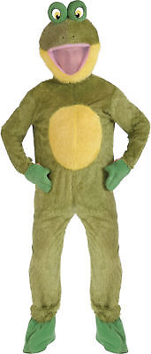 FROG MASCOT ADULT MENS COSTUME Nature Animal Funny Theme Party Cute Halloween](Nature Themed Halloween Costumes)