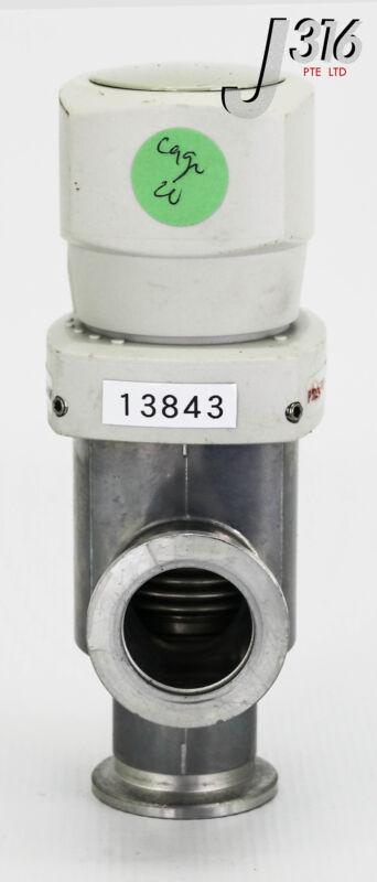 13843 PFEIFFER VACUUM VALVE, TYPE EVB 025 SA PFA41002