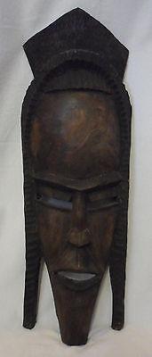 Vintage Primitive African Carved Wood Tribal Mask / Art / Home Decor (Large)