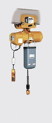 Acco 1-ton Push Trolley Electric Chain Hoist