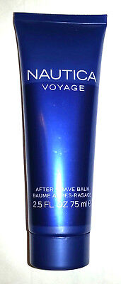 Nautica VOYAGE AFTER SHAVE BALM in Tube 2.5 OZ Men's Cologne Perfume Fragrance