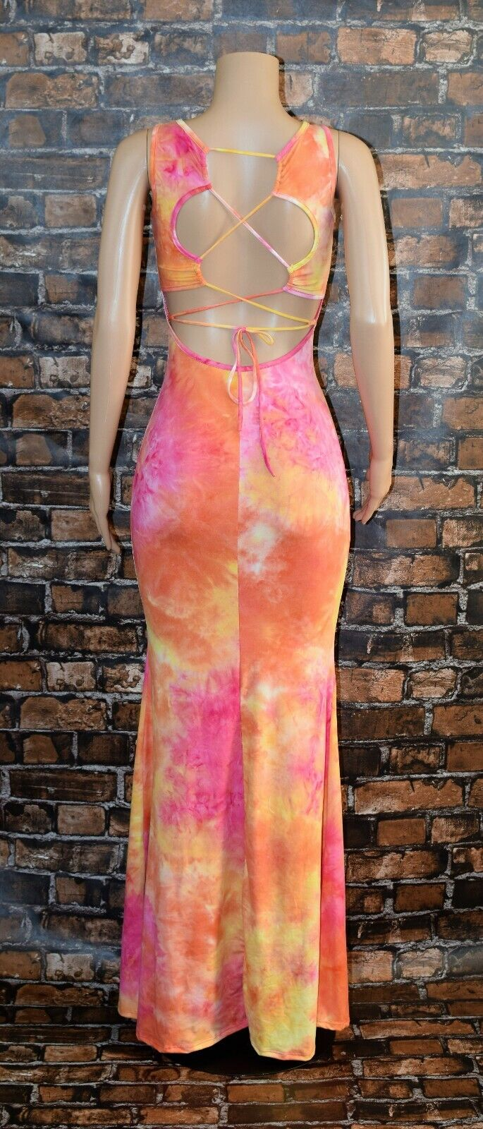 Maxi Dress Tie Dye 5