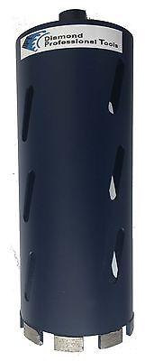 4 14 Laser Welded Dry Diamond Core Drill Bit For Concreteasphalt 11 Length