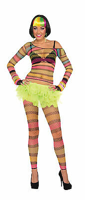 Unisex Fishnet Top Gay Pride Festival Fancy Dress Costume One Size Fits - Top Gay Kostüm