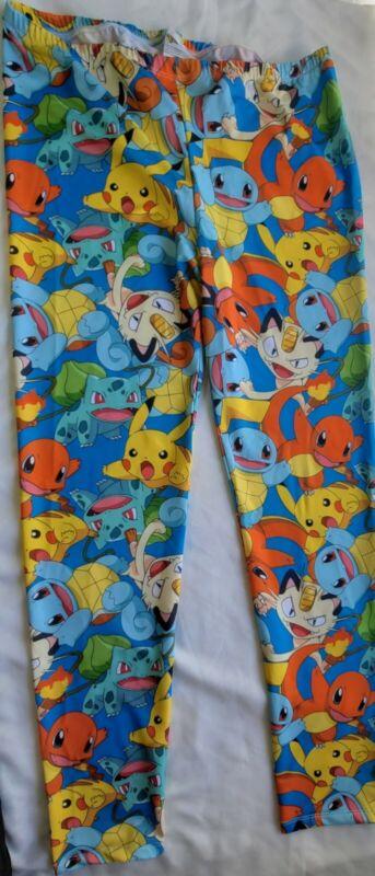 Pokemon Pajamas Unisex Boys/Girls Lounge Pants Picachu & Charmander PJs Size XL