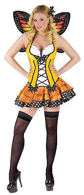 Frühling Schmetterling Erwachsene Damen Kostüm Wings Sexy Kleid Fee Halloween