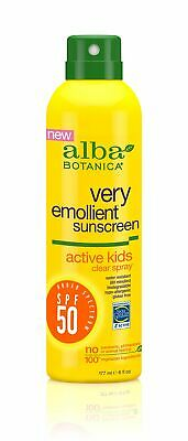 Alba Botanica Tropical Fruit Clear Spray Kids SPF 50 Sunscre