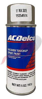 Genuine GM ACDelco Pewter Metallic Paint 5oz Spray Code 11U WA382E