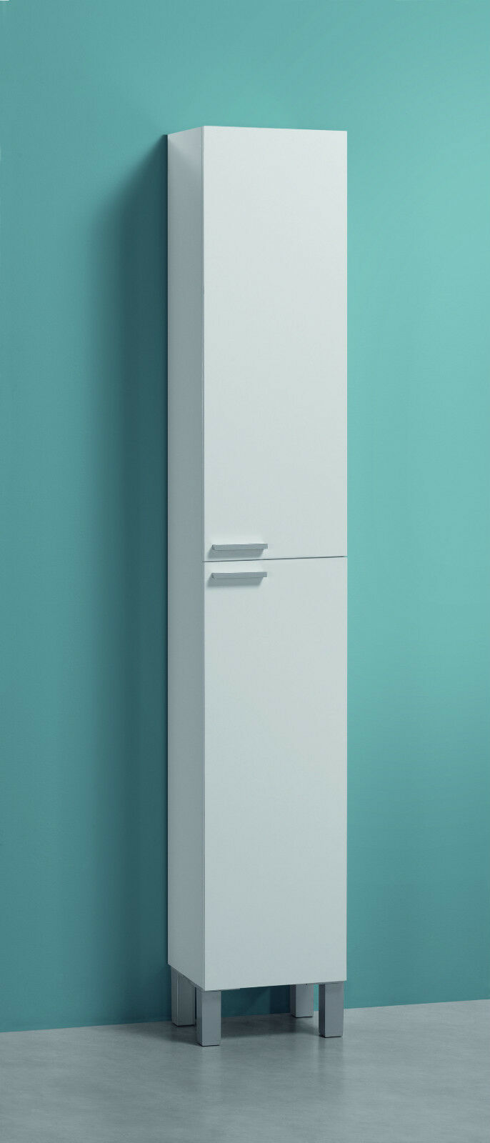 Koncept tall narrow bathroom cupboard storage cabinet soft - Tall bathroom storage cabinets with doors ...