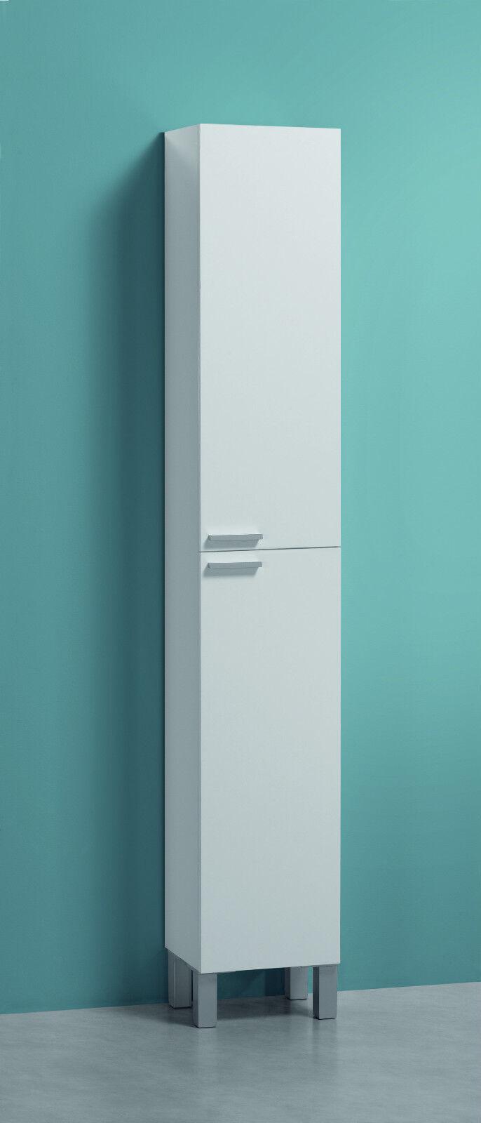 Koncept Tall Narrow Bathroom Cupboard Storage Cabinet Soft