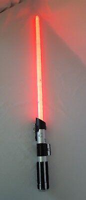 Star Wars Ultimate FX Lightsaber Darth Vader Red Hasbro 2010