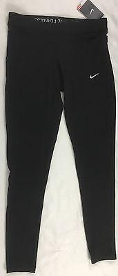 Nike Women's Dri-Fit Training Leggings Pants Black 853662 Size M