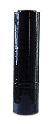 Black Stretch Film Handshrink Wrap 18 X 1200 X 80 Gauge 1 Roll
