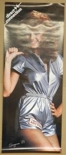 GIRL DODGE PLYMOUTH MOPAR SUZANNE REAL NOS 83 RACE TEAM DIRECT CONNECTION POSTER