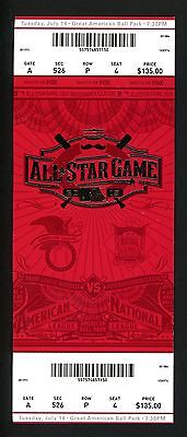 2015 MLB All Star Game Ticket Great American Ballpark Cincinnati Mike Trout MVP