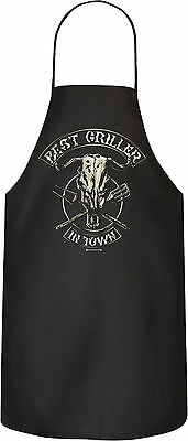 Grill Garten Schürze Best griller in town Grill BBQ