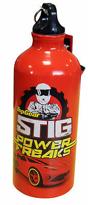 BBC Worldwide Top Gear The Stig Red Water Bottle Sports Style – 600ml 17 x 7cm