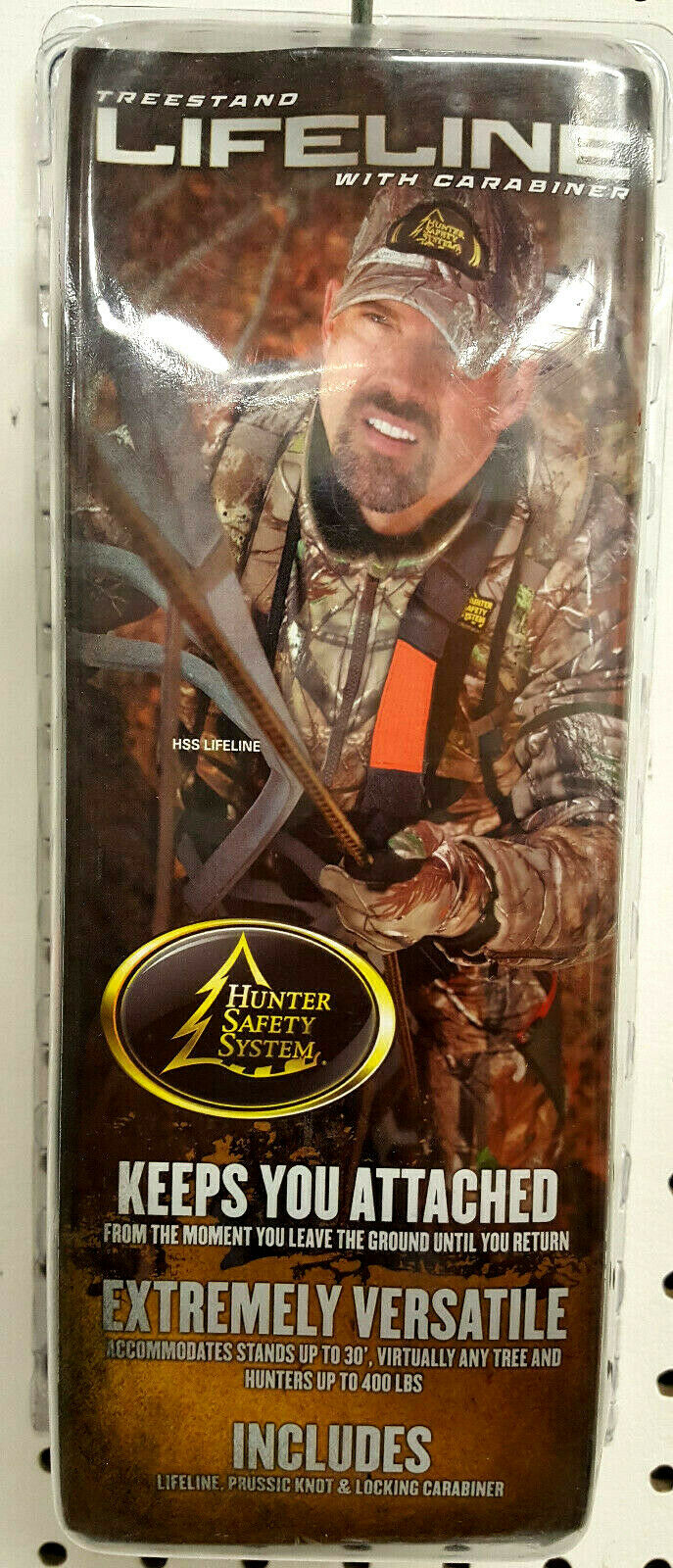 Hunter Safety System Non-Reflective Lifeline with New Cowbel