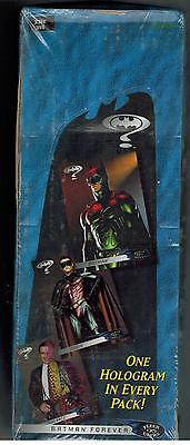 UNOPENED BOX 24 RAK PACKS 1995 ULTRA BATMAN FOREVER COLLECTOR CARDS HOLOGRAMS