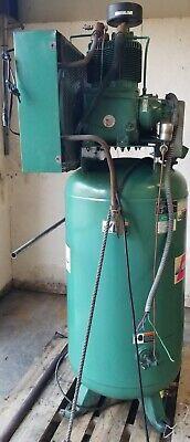 Champion 80 Gallon Industrial Duty Air Compressor 7.5 Hp 3ph 208-2
