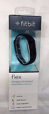 NEW Fitbit FLEX Wireless Tracker Activity Sleep Wristband - Small+Large - Black