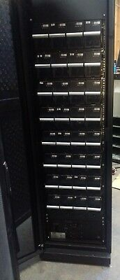 APC Symmetra PX Extended Runtime XR Battery Enclosure Cabinet /w 32x SYBTU1-PLP