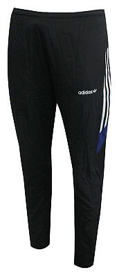 (Adidas Challenger Mens Track Sweat Pants Joggers Bottoms Black BS2284 R4E)
