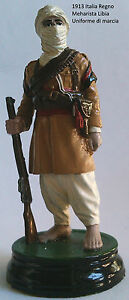 HQ-painted-54-mm-lead-soldier-very-detailed-collectable-1913-Colonie-Libia