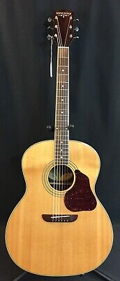 Washburn LSJ743SK Lakeside Jumbo Acoustic Guitar Gloss Natural