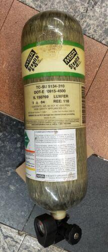 MSA Stealth H-45 45 Min. 4500 PSI Carbon SCBA Air Bottle Cylinder Tank Mfr 2004
