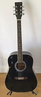 WESTVILLE ACOUSTIC GUITAR JUMBO STYLE IN HONEST USED CONDITION ..