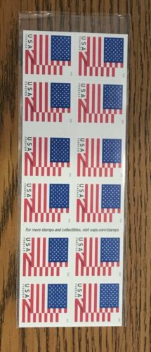 New Unused USPS Forever Postage Stamps ~ No Expiration - Book of 20