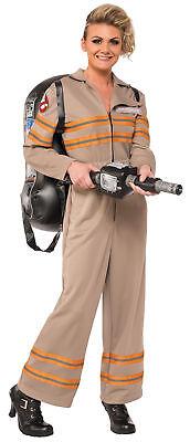 rwachsene Damen Overall mit Aufblasbar Rucksack Kostüm (Ghostbusters Kostüm Damen)