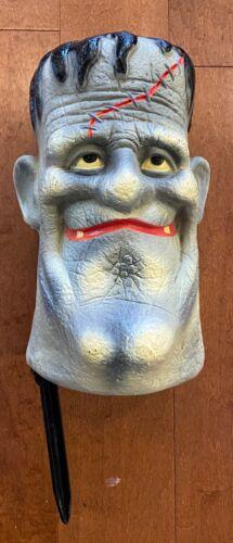 Frankenstein Head Blow Mold RARE 11 inches