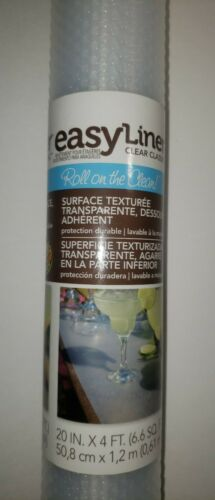 brand clear classic easy shelf liner 20