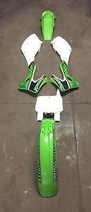 Kawasaki KX250/ KX125 plastics with stickers******2000******2002 Mulgrave Monash Area Preview