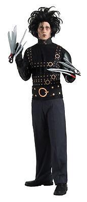 Edward Scissorhands Adult Mens Costume Jacket Wig Johnny Depp Halloween - Johnny Depp Halloween Costume