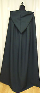 LARGE DARK GREEN  HOODED CAPE/CLOAK/PAGAN/WOODFOLK