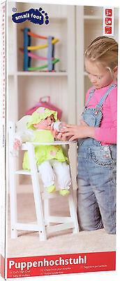 Hochstuhl für Puppen Holz ca. 28 x 22 x 53 cm NEU