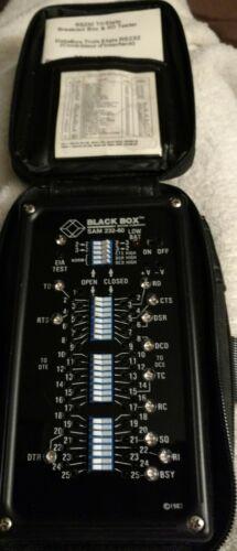 Black Box RS232 Tri-State  Breakout Box & I/O Tester SAM232-60 T81628