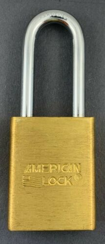American A3561WO Padlock SFIC without Core