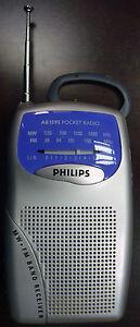NEW-PHILIPS-AE1595-Portable-Pocket-AM-FM-Radio