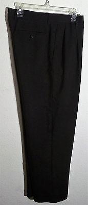 black microfiber dress pants by Louis Raphael, size 36 x (Microfiber Dress Pants)