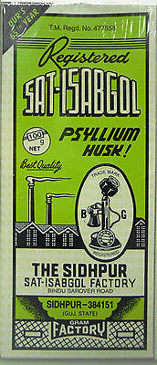 10 Boxes Telephone Sat Isabgol 100g Psyllium Husk Natural...