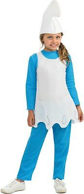 Smurfette Child Costume - 2 Sizes - Kids Smurfette Costume